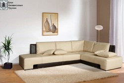 Угловой диван Премьер 2850х2100 Блок Независимых Пружин