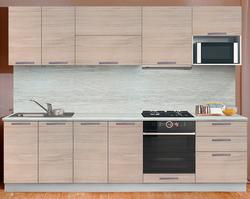 Кухня Престиж со шкафом под микроволновую печь 2200, 1 категория, раскомплект.