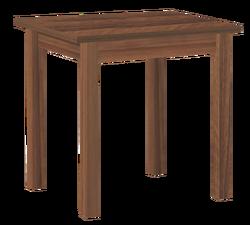Стол обеденный раскладной Компакт прямая нога 600/720х720/1200
