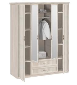7.16 Шкаф 4-х дверный с зеркалом 1740х2420х572 серия Классика