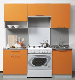Кухня Симпл 1700 мм с нишей, 1 категория