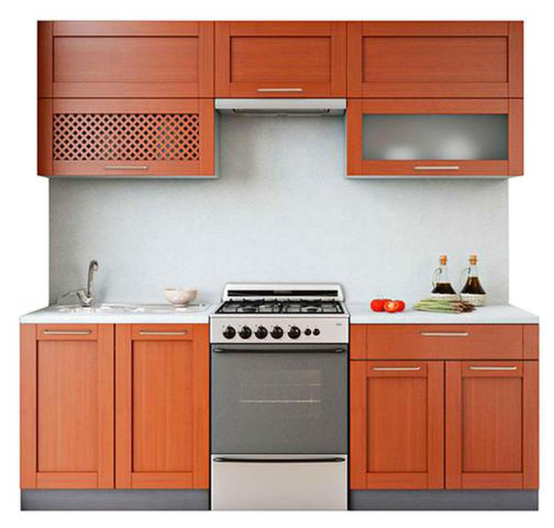 Кухня Симпл Массив 2200, 2 категория