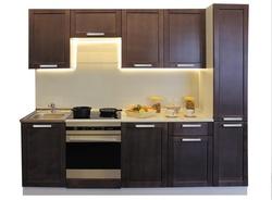 Кухня Симпл 2500, массив Боровичи мебель