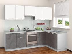 Кухня Симпл угловая 2700х1500, Боровичи мебель