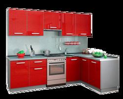 Кухня Симпл угловая 2700х1500, 1 категория Боровичи мебель
