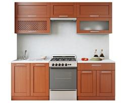 Кухня Симпл 2200, массив с решеткой Боровичи мебель