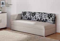 Софа с подушками 1200 с блоком независимых пружин