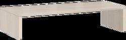 17.25 Надстройка на тумбу 845х136х385 серия Соло