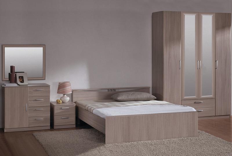 Спальня Лотос 2 в цвете (шимо светлый)