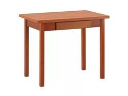 Стол обеденный с ящиком Прямая нога (600х900)