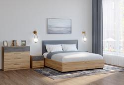 Кровать с подъемным механизмом Лофт 1200 с матрасом, Боровичи мебель