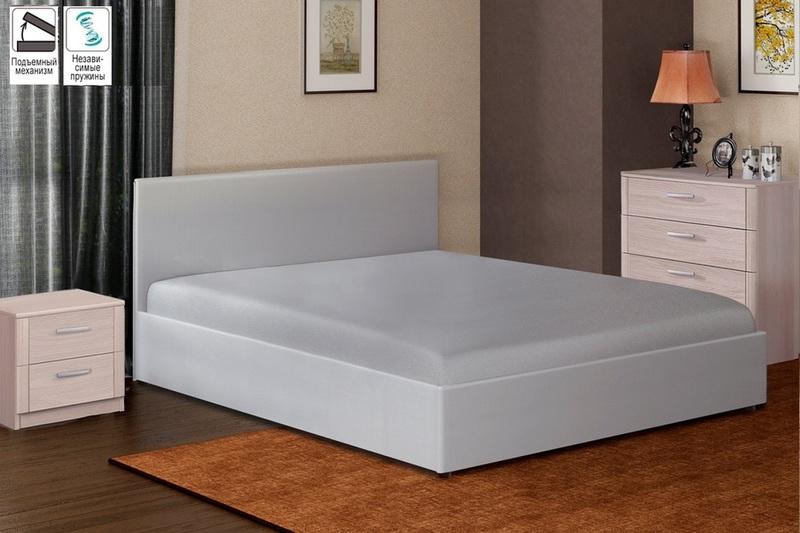 Кровать с подъемным механизмом Софт 900 с блоком независимых пружин