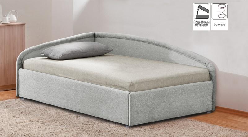 Кровать с подъемным механизмом Угловая 900