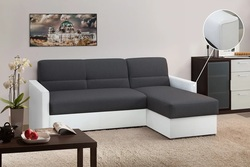 Угловой диван Виктория 2-1 1400 (боковина с кантом)