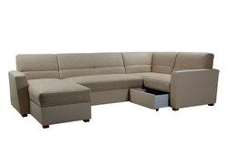 Угловой диван  Виктория 3-1 с ящиком 1400