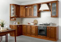 Кухня Массив Люкс угловая 1335х2500