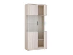 17.07 Шкаф 2-х дверный со стеклом серия Модерн