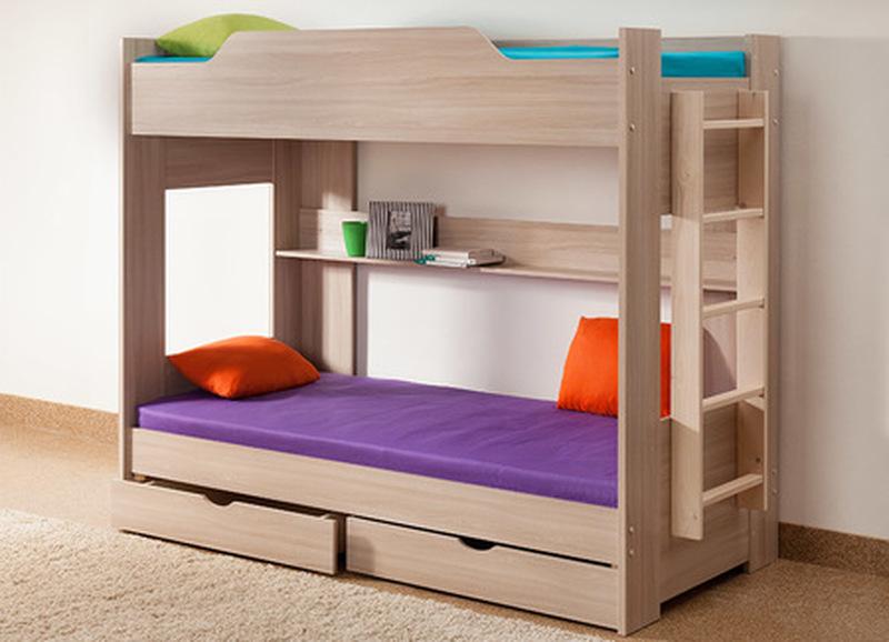 Кровать двухъярусная, Боровичи мебель