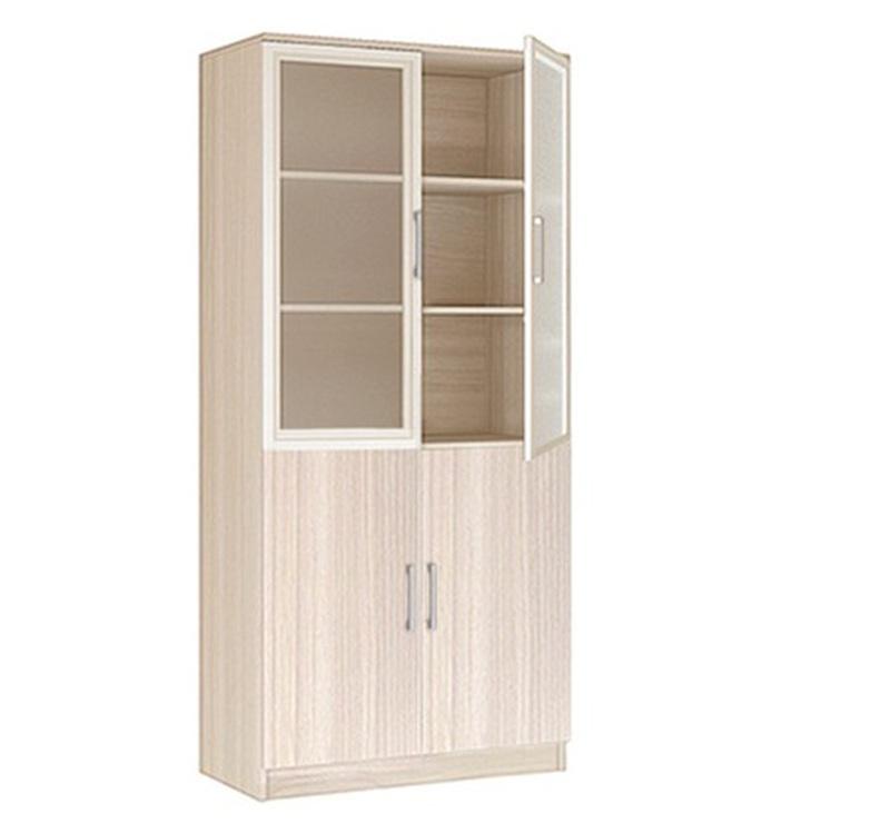 20.21 Шкаф 2-х дверный со стеклом серия Соло