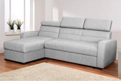 Угловой диван Виктория 2-1 с подголовниками 1350