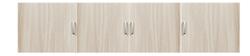 1.072 Антресоль 4-х дверная серия Эко