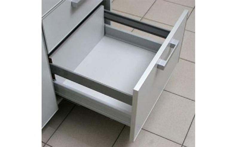 Металлический ящик с системой плавного закрывания КАЛИБРА, Боровичи мебель