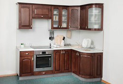 Кухня Массив Люкс 1335х1600