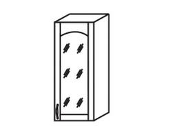 МВ-24В Шкаф-витрина 300х320х700, Боровичи мебель