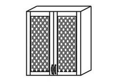 МВ-7 Шкаф с решеткой 800х320х700, Боровичи мебель