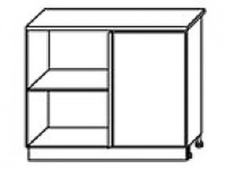 СН-77 левый Стол угловой 1000х600х840 ( массив ), Боровичи мебель