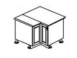 МН-18 левый Стол угловой 885/890х600х840, Боровичи мебель
