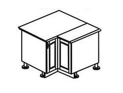 МН-18 правый Стол угловой 885х890х600х840, Боровичи мебель