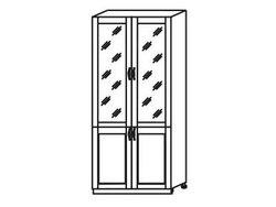 МН-22 Пенал-буфет 800х590х2305, Боровичи мебель