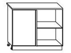 СН-77 правый Стол угловой 1000х600х840 ( массив ), Боровичи мебель