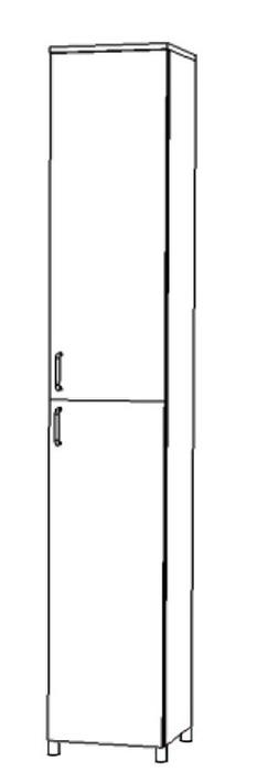 Пенал 300х330х2070 мм Некст, Боровичи мебель