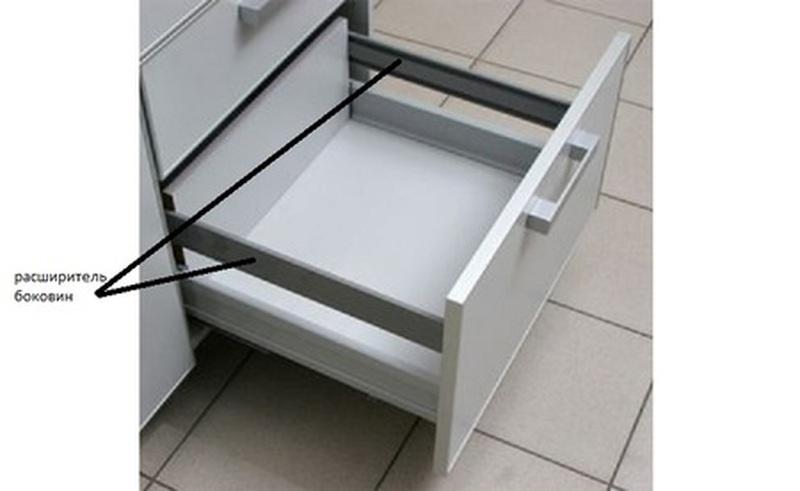 Расширитель боковин для ящика КАЛИБРА, Боровичи мебель