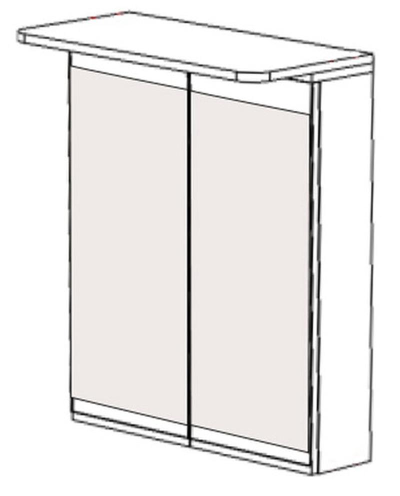 Шкаф навесной НВ-03 Идеал, Некст 700х150х700 мм, Боровичи мебель