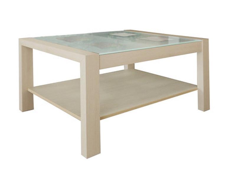 Стол журнальный со стеклом, Боровичи мебель