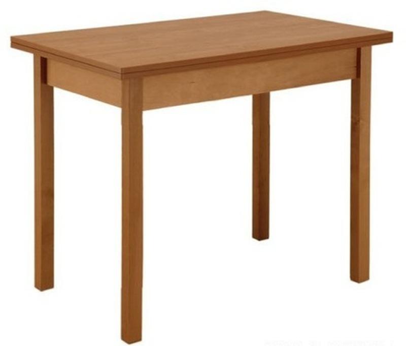 Стол обеденный раскладной прямая нога 600x900