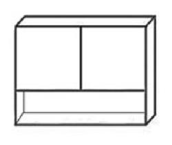 СВ-106Н Шкаф с нишей 1000х320х700 ( массив ), Боровичи мебель