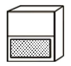 СВ-15 Шкаф с решеткой 800х320х700 ( массив ), Боровичи мебель