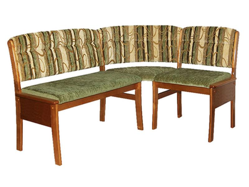 Кухонный угловой диван Этюд облегченный вариант 2-1 без ящика (1500х1100)