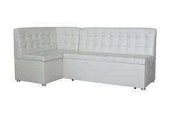 Кухонный угловой диван Уют со спальным местом со стежкой Релакс , Левый