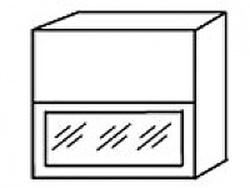 СВ-14В Шкаф-витрина 800х320х700 ( массив ), Боровичи мебель