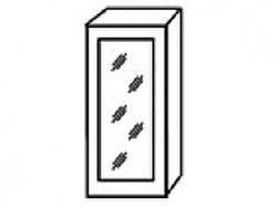 СВ-4В Шкаф-витрина 400х320х700 ( массив ), Боровичи мебель
