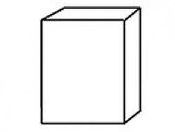 СВ-8 Шкаф 600х320х700 ( массив ), Боровичи мебель