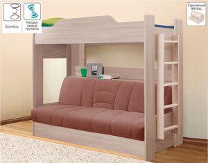 Обновление цвета для двухъярусной кровати
