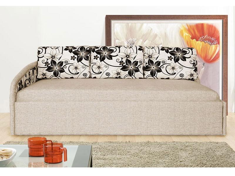Тахта Угловая с подушками 1200 с блоком независимых пружин